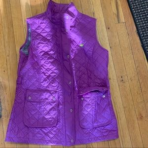 Purple/pink women's Master's logo vest